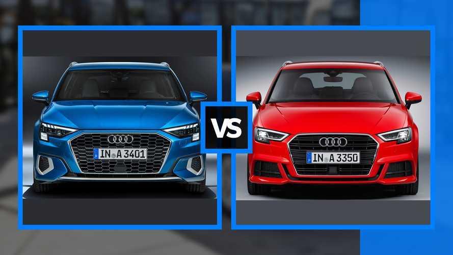 Hasonlítsd össze a régi és az új Audi A3-at