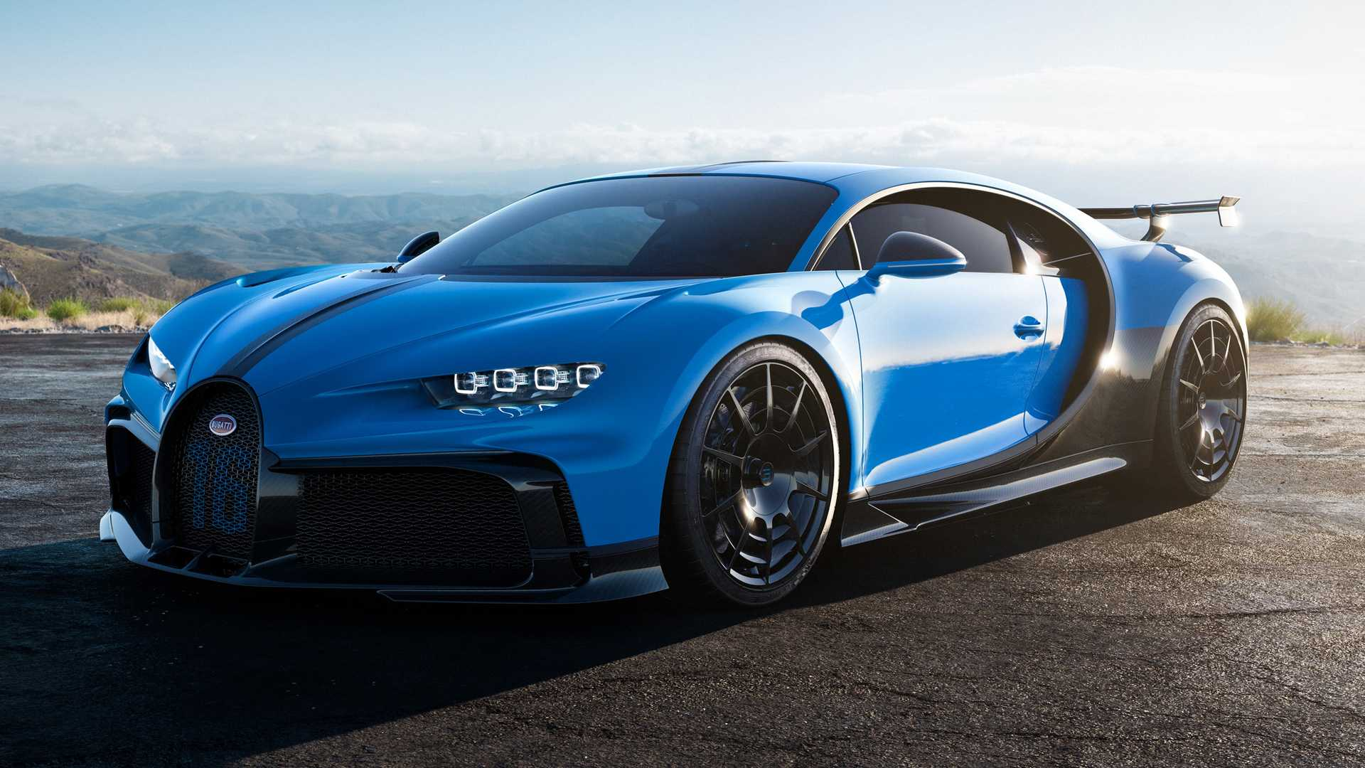 Bugatti Chiron Pur Sport Passes No Gas Station With 8 MPG City Rating