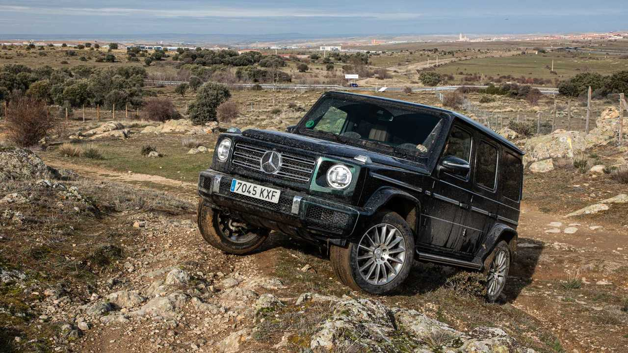 Mercedes-Benz G 350 d 2020, prueba