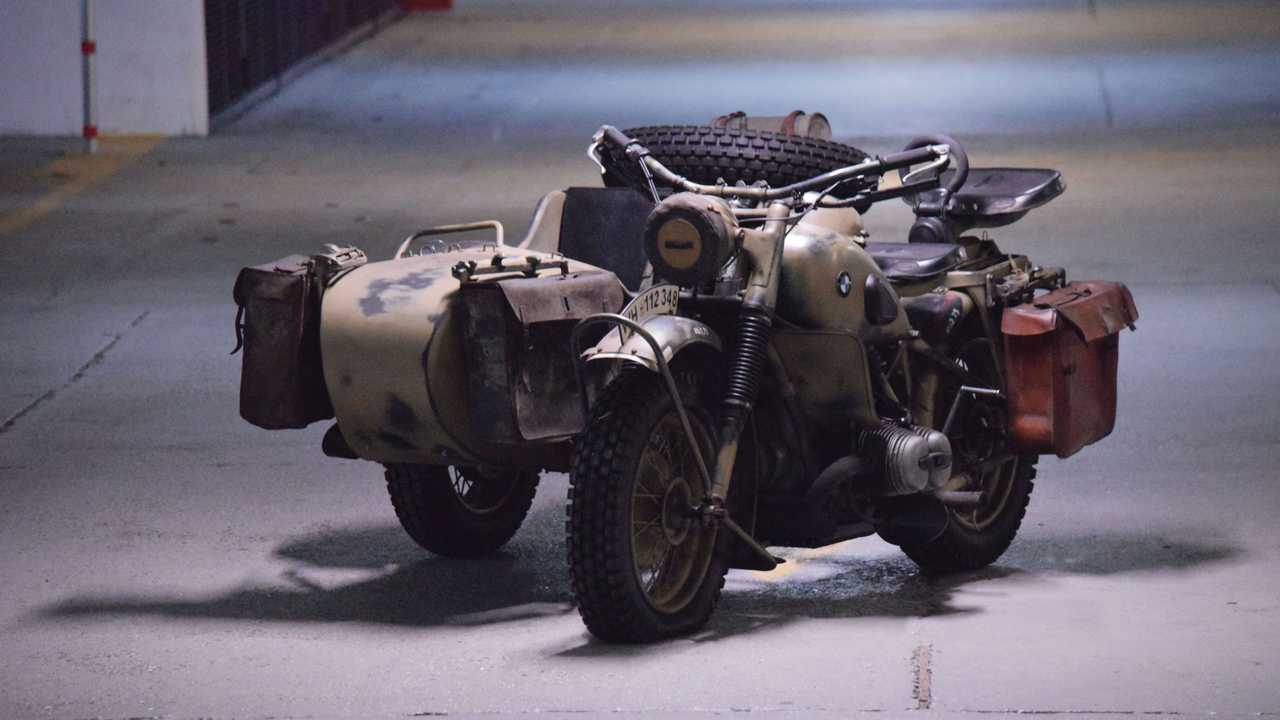 This WWII era BMW R75 sidecar will hit the auction block