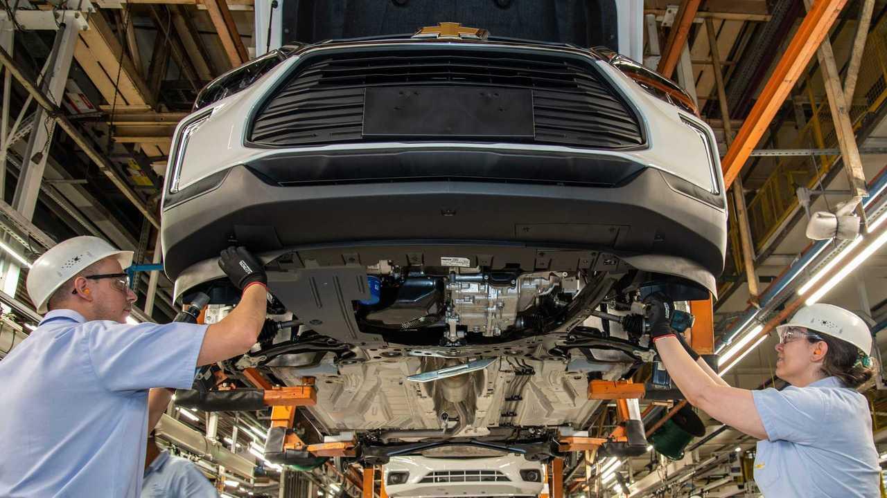 Chevrolet Tracker 2021 - Produção