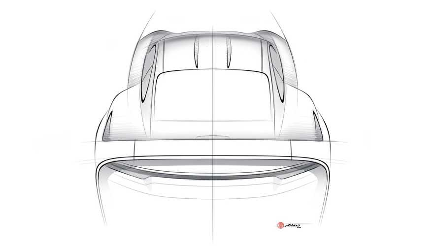 Porsche 911 off-road project by Uwe Gemballa's son sketched out