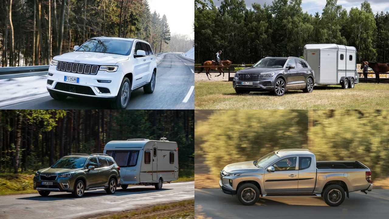 Anhängelast: Die besten Autos zum Ziehen (Collage)