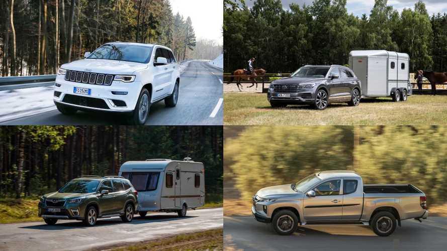 Anhängelast: Die besten Autos zum Ziehen schwerer Anhänger