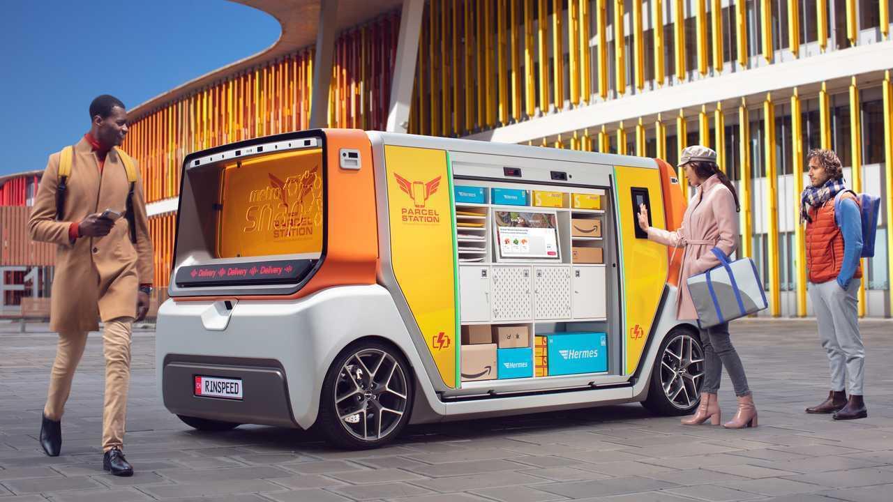 RinSpeed: MetroSnap Autonomous Concept