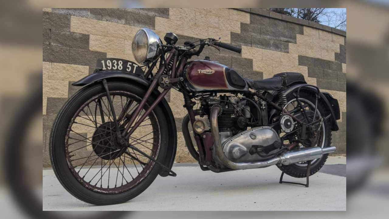 Bud Ekins 1938 Triumph Speed Twin
