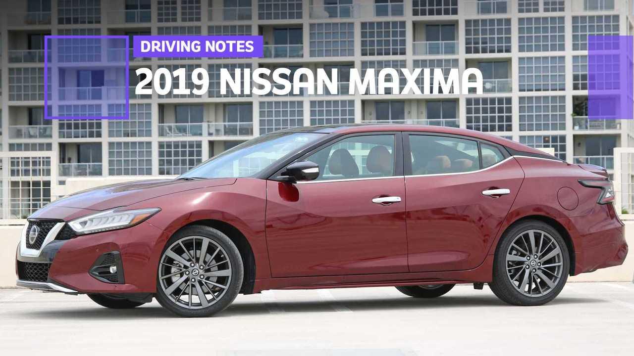 2019 Nissan Maxima Drive Notes