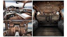 Carlex Design Mercedes-AMG G 63 mit Holz-Orgie im Innenraum