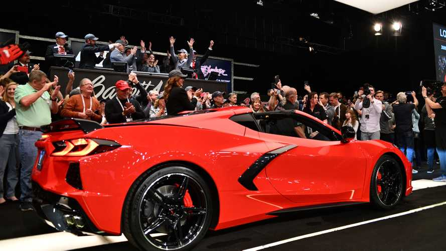 Chevrolet Corvette Stingray VIN 001, subastado
