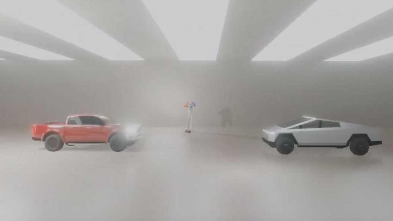 Watch Tesla Cybertruck Flip Ford F-150: New Ford Wedge Pickup Emerges