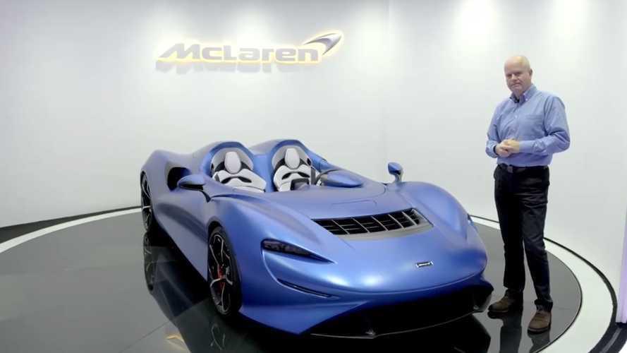 VIDÉO - La bulle d'air invisible de la McLaren Elva