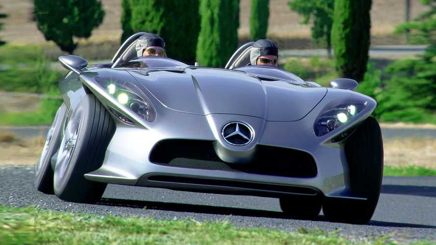 Vergessene Studien: Mercedes F 400 Carving (2001)