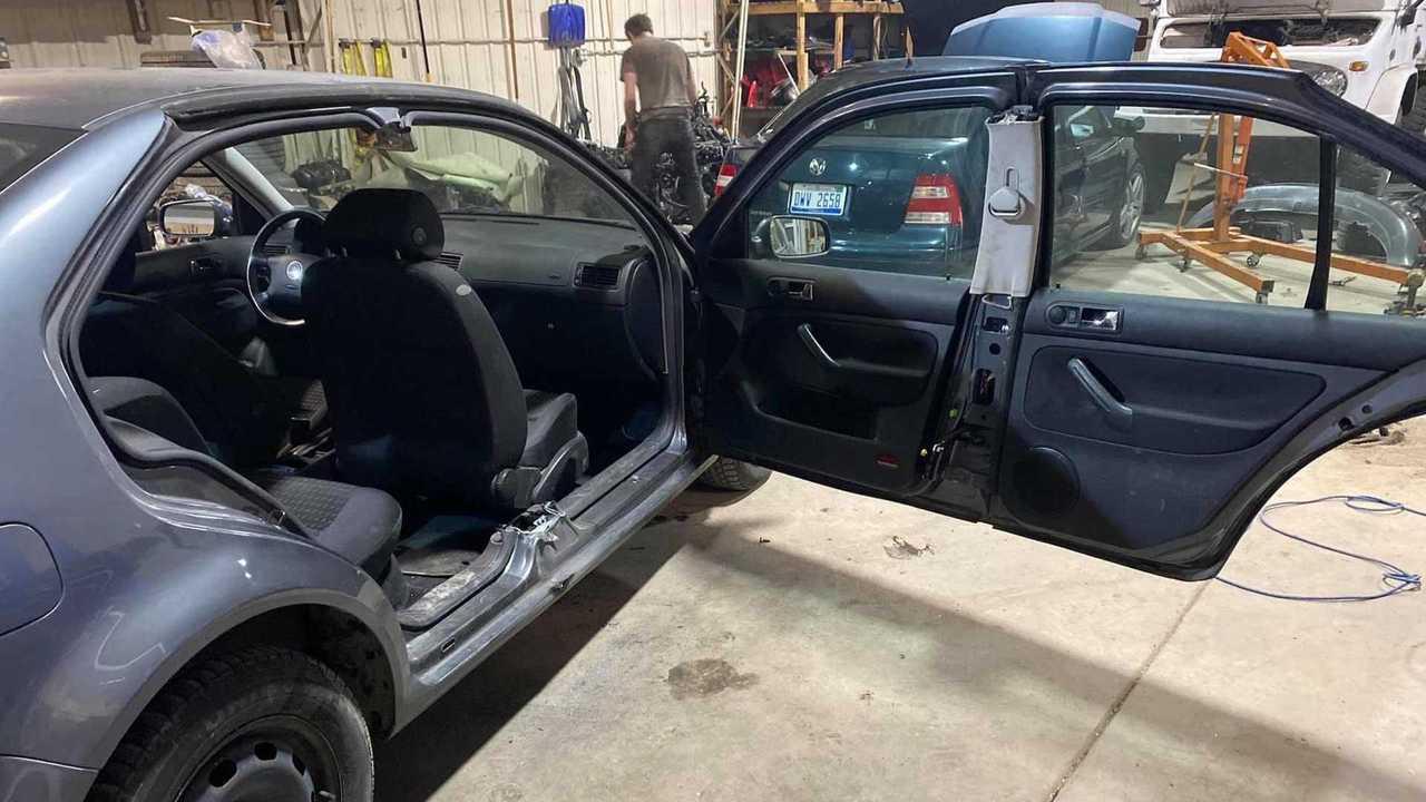 Long-Door Jetta Coupe