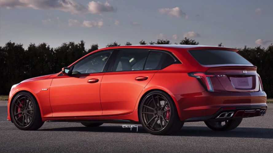 Cadillac CT5 Wagon Could Happen, And It Might Look Like This