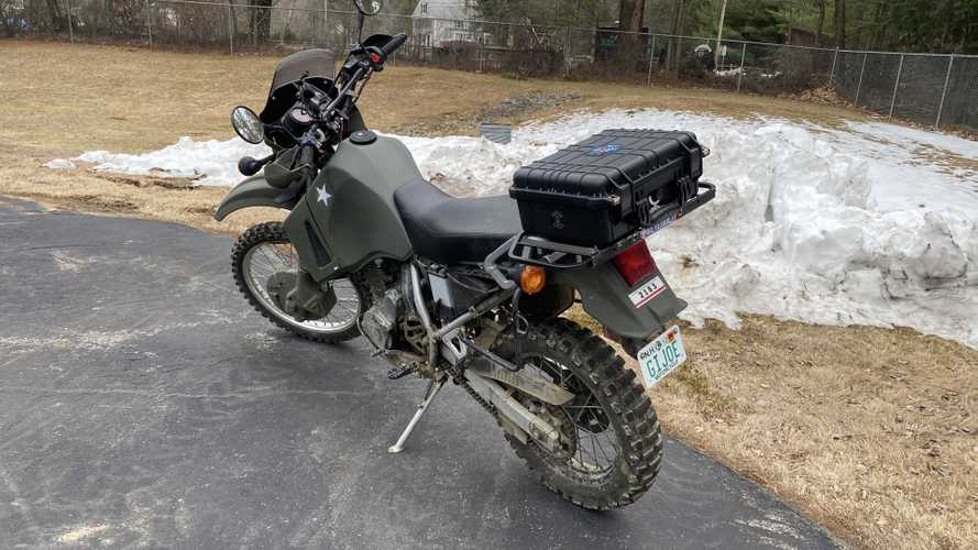 Meet The RideApart Team's Bikes: Justin's Kawasaki KLR 650