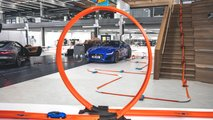jaguar f type debutto hot wheels video