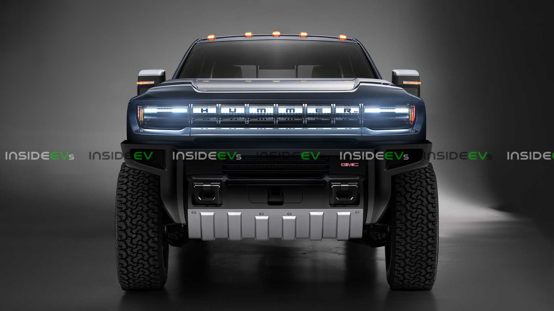 Hummer Electric Pickup Truck Looks Big & Rugged In Exclusive Render