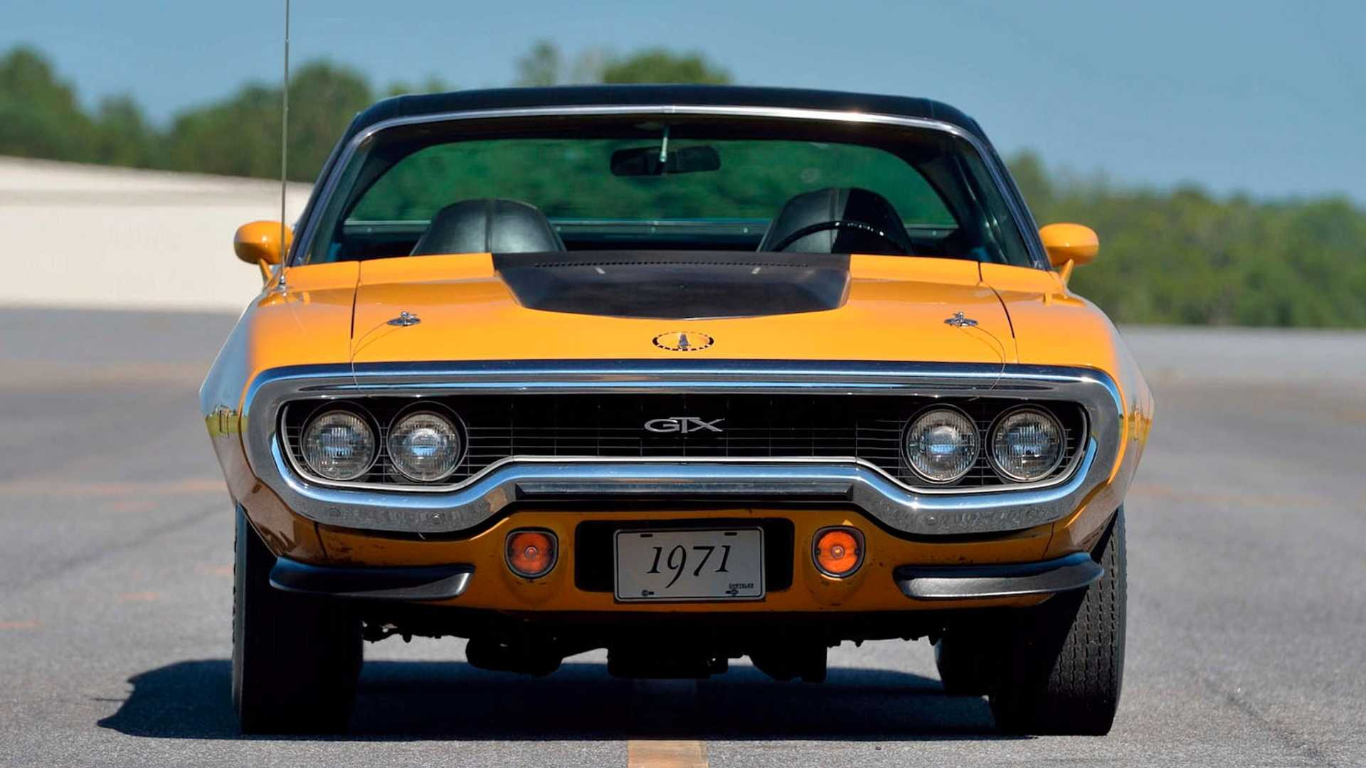 "[""Museum-Grade 1971 Plymouth GTX Hemi Up For Grabs""]"