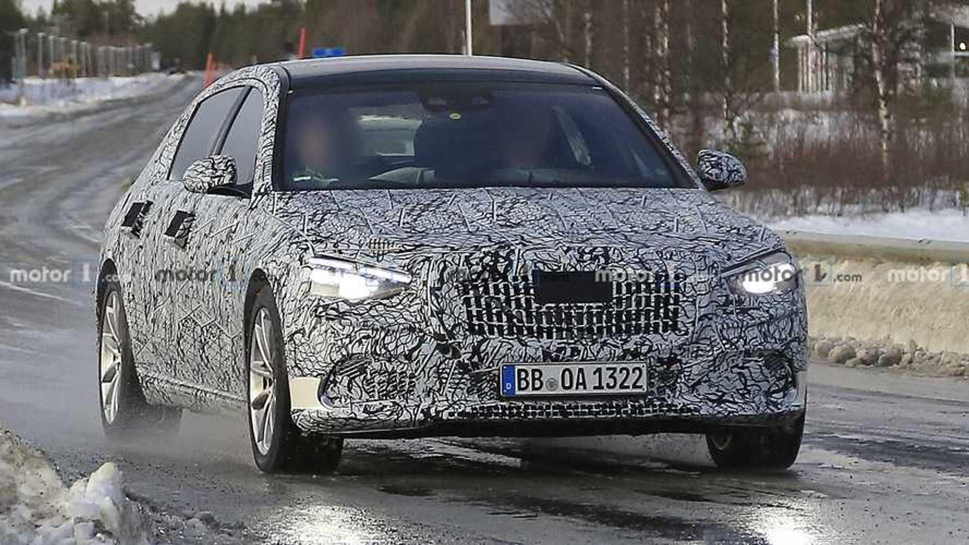 2021 Mercedes-Maybach S-Class Spy Shots