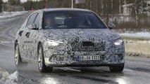 Fotos espías del Mercedes-Maybach Clase-S 2021