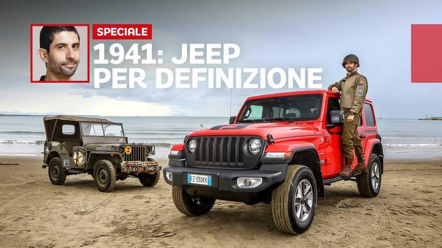 Jeep Wrangler, i segreti di un mito che nasce nel 1941