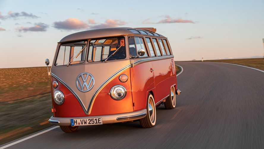 VW e-Bulli electrified classic bus revealed