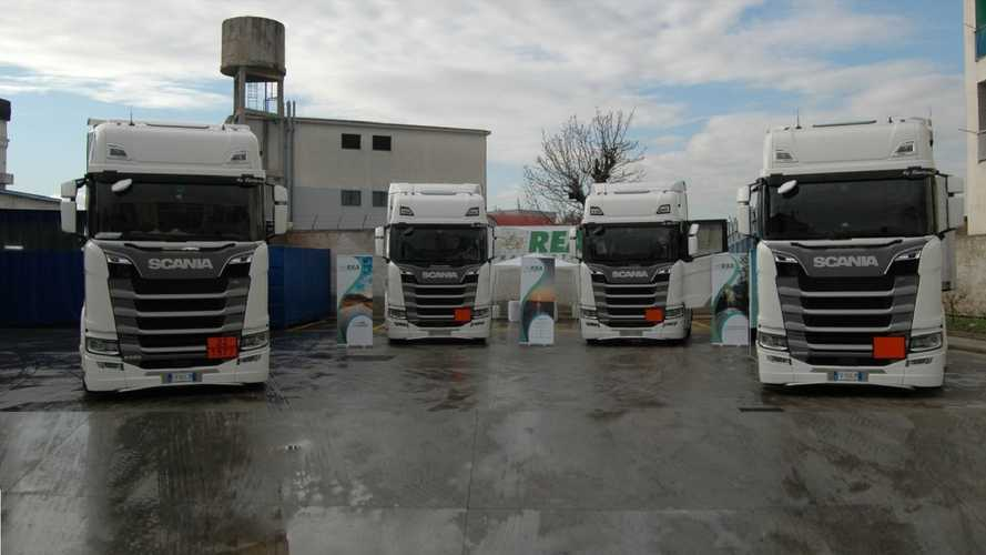 REA Trasporti sceglie Scania per il trasporto verde di gas medicali