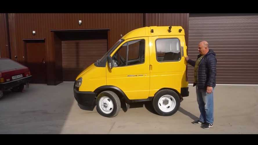 Tiny Makeshift Van Looks Hilariously Unsafe