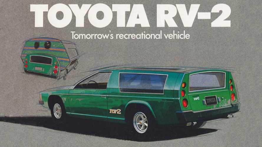 Раскладной автомобиль Toyota RV-2: дом, который всегда с тобой