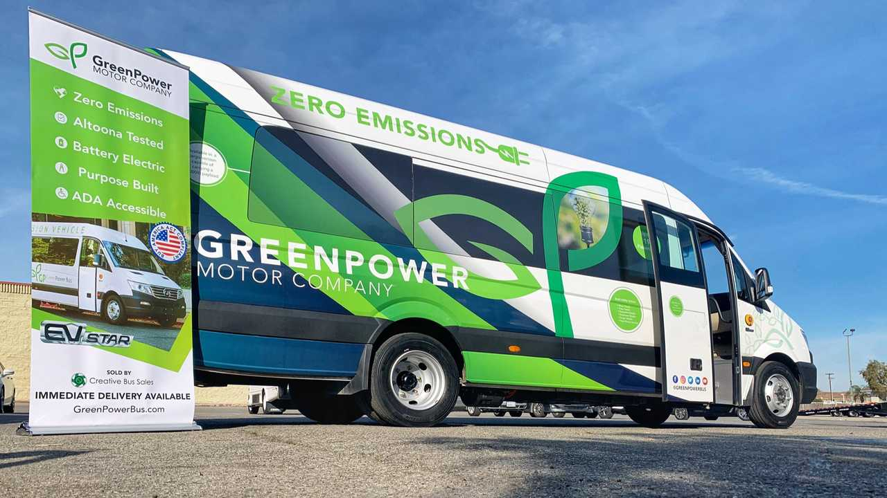 GreenPower Motor EV Star electric bus