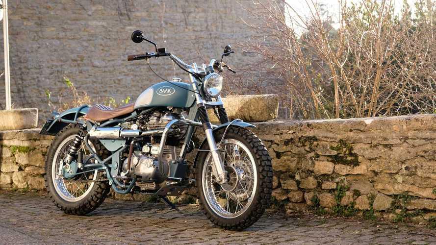 Barebones Stunner: Custom Royal Enfield Classic 500