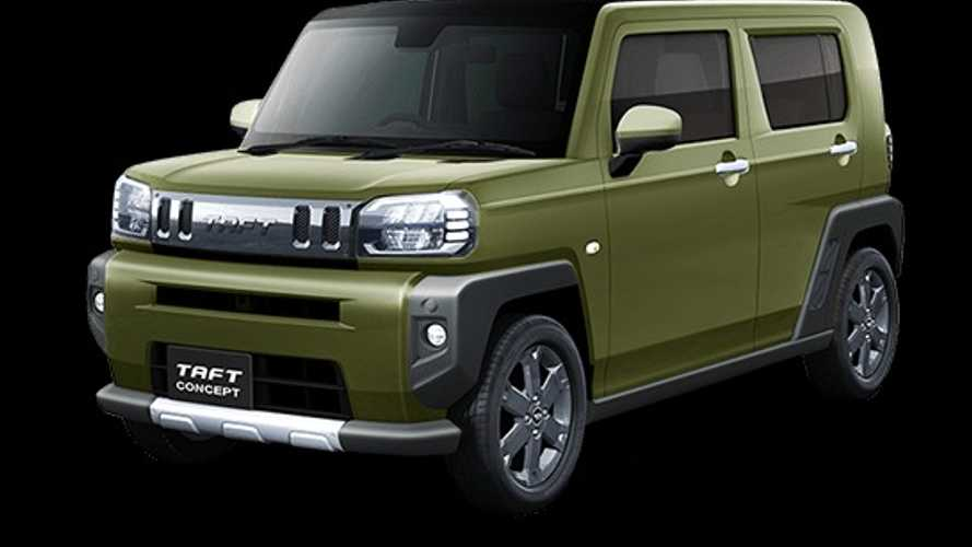 Daihatsu Brings Custom Vehicles And Taft Concept To Tokyo Auto Salon