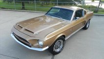Turn Heads In This Restored 1968 Ford Shelby GT500 Fastback