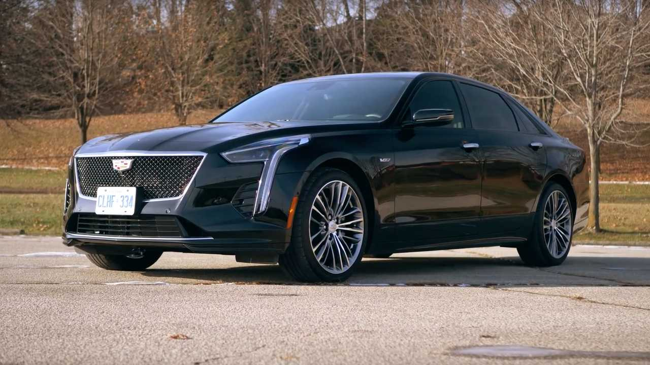 Cadillac CT6-V Video Takes A Close Look At The $100K Caddy