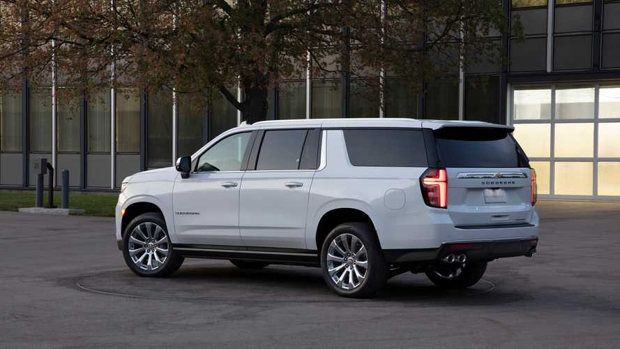 2021 chevrolet suburban | motor1 photos