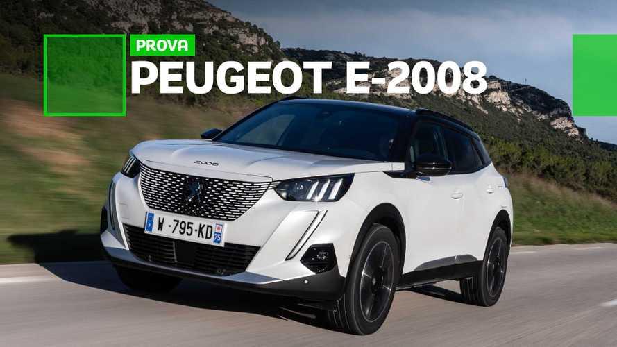Avaliação Peugeot e-2008 - SUV elétrico agrada pelo visual, dinâmica e espaço
