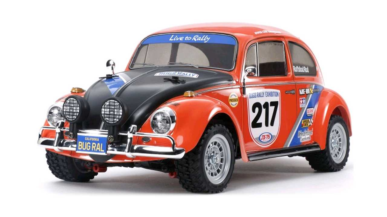 Tamiya 1-10 RC VW Beetle Rally MF-01X