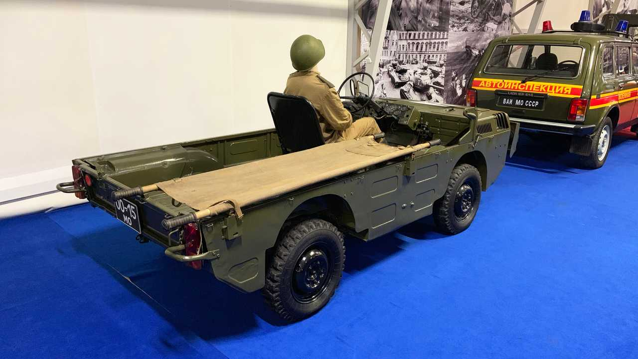 Vergessene Militärfahrzeuge der UdSSR: TPK LuAZ-967
