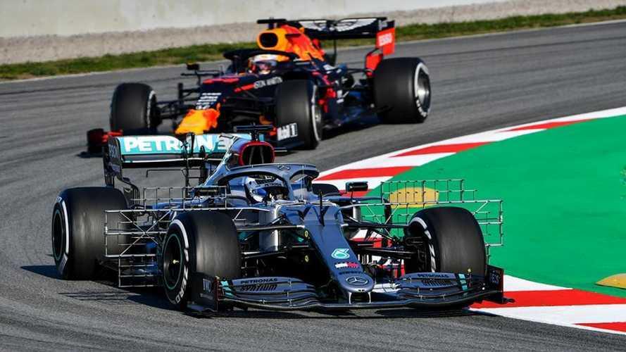 Mercedes comienza la pretemporada 2020 intimidando