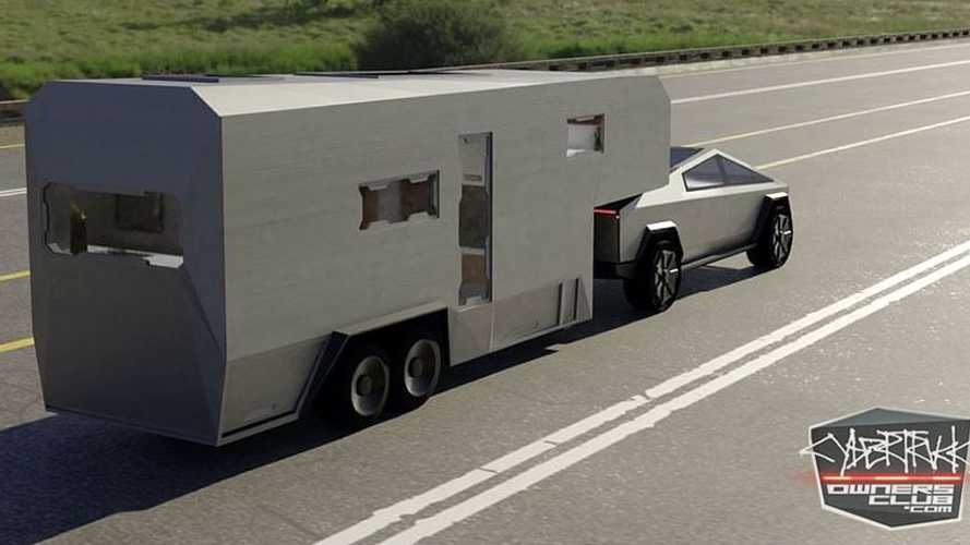 This Tesla Cybertruck Custom RV Is The Tiny Home Of Our Dreams
