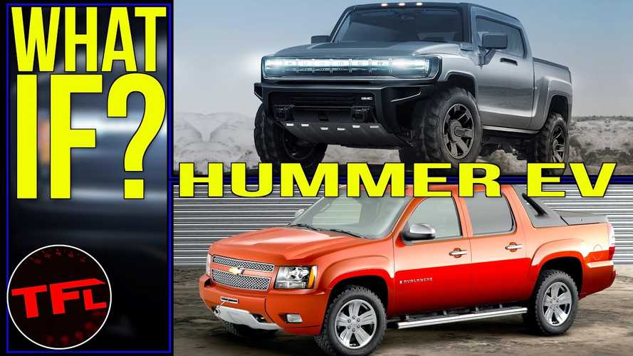 Could The GMC Hummer Electric Truck Be An Electric Avalanche?