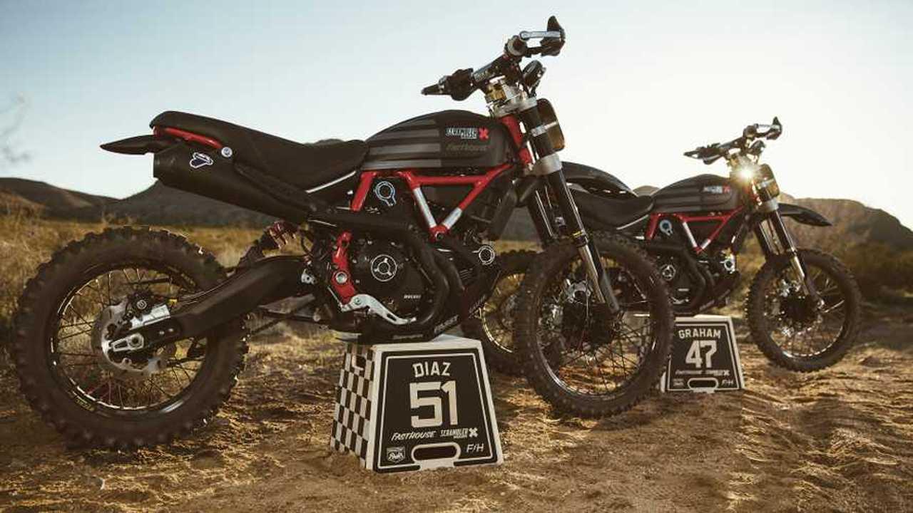 Ducati Scrambler Desert Sled Mint 400
