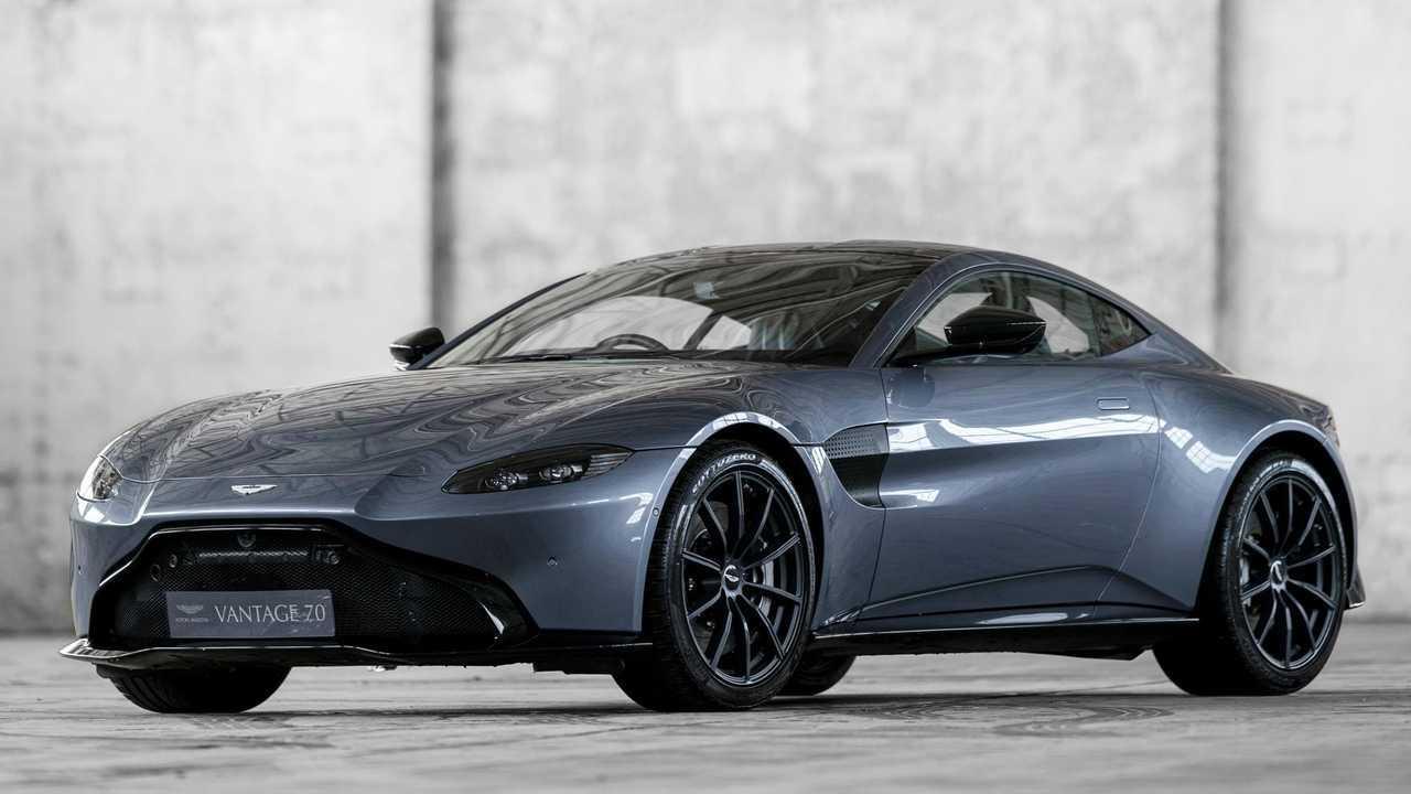 The Aston Martin Vantage Hits 70