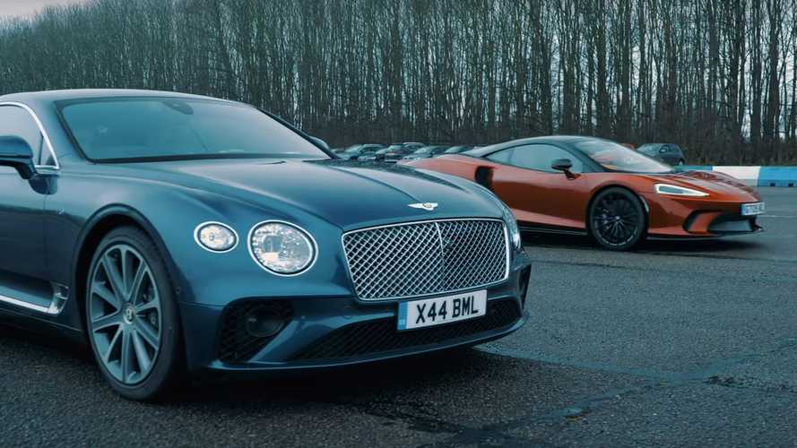 McLaren GT Drag Races Bentley Conti GT For Grand Tourer Supremacy