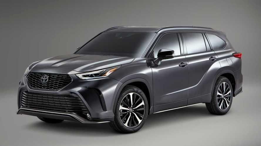 Toyota Highlander впервые стал спортивнее
