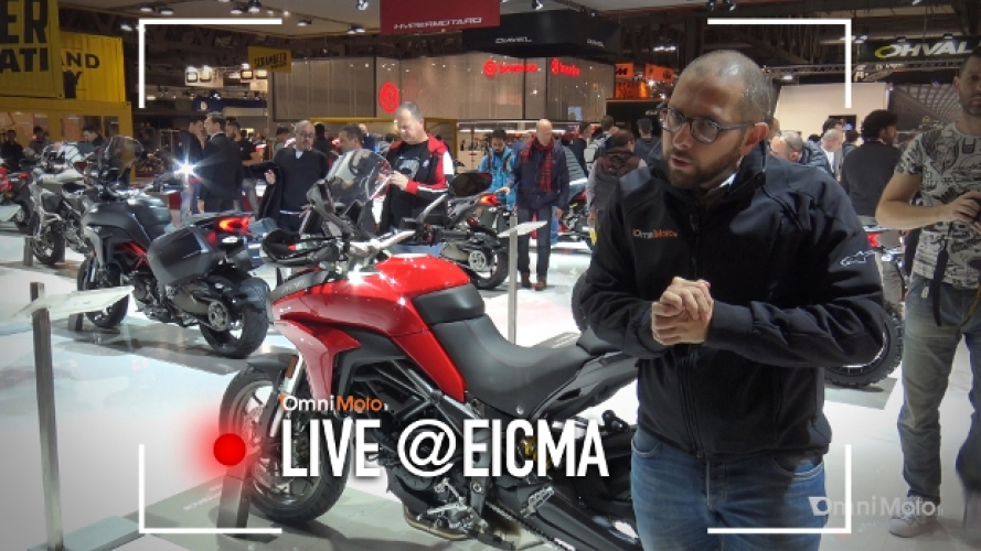 Ducati Multistrada 950 2017 a EICMA 2016 [VIDEO]