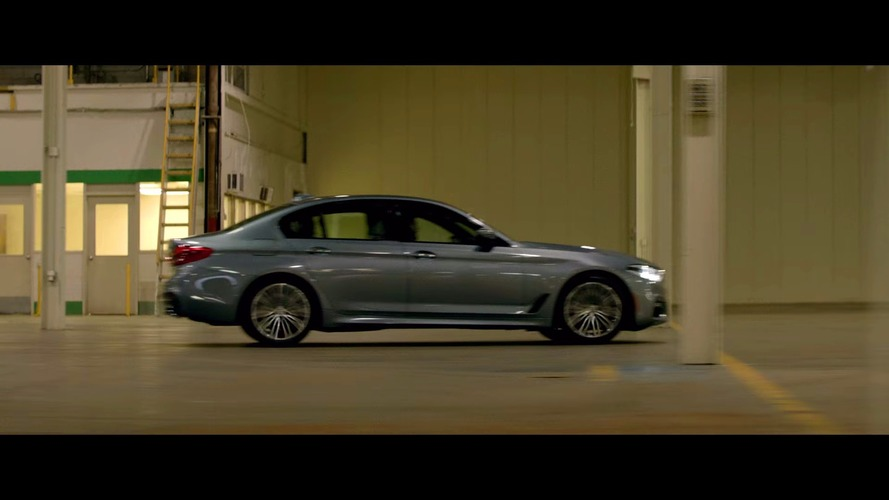 Second BMW Films: The Escape trailer features 2017 5 Series