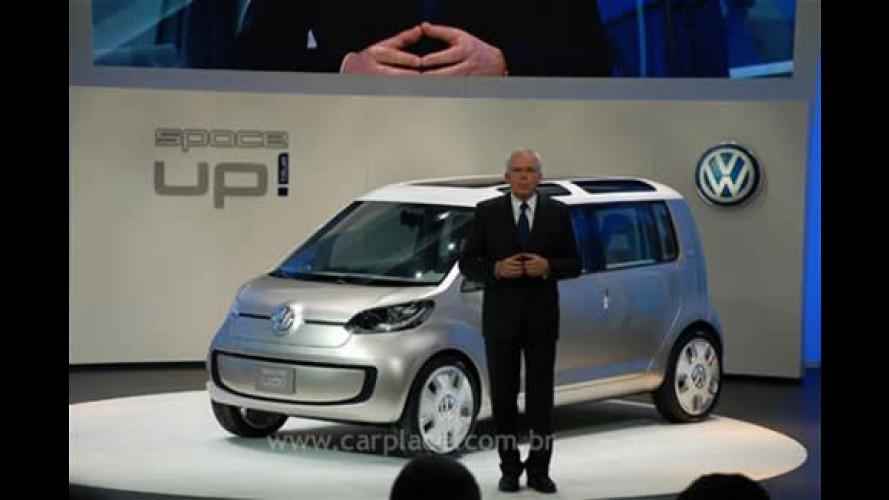 Volkswagen Space UP! Blue - versão híbrida é apresentado em Los Angeles