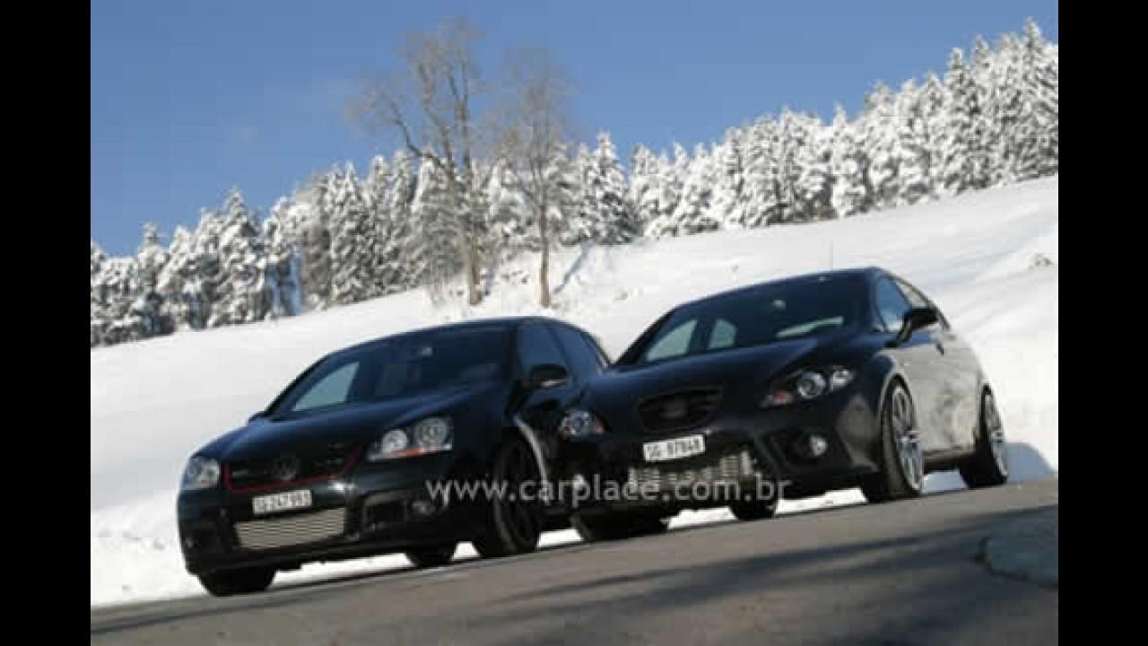 Volkswagen Golf GTI e Seat Leon tunados pela O.CT ficam bem mais