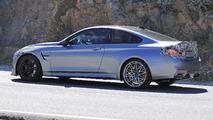 2017 BMW M4 facelift spy photo